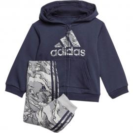 Chándal adidas Logo Fleece Hooded azul/gris bebé