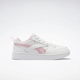 Zapatillas Reebok Royal Prime 2 blanco/rosa junior
