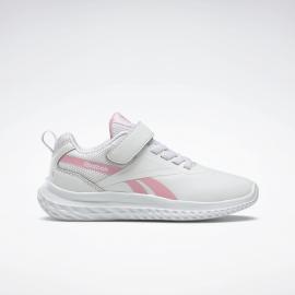 Zapatillas Reebok Rush Runner 3 blanco/rosa niña