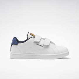 Zapatillas Reebok royal Complete CLN ALT blanco/azul niño