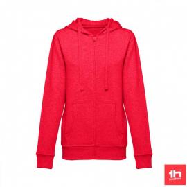 Sudadera TH Clothes Amsterdam rojo mujer