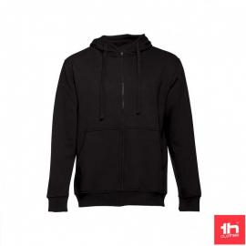 Sudadera TH Clothes Amsterdam negro hombre