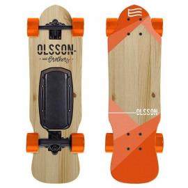 Skate eléctrico Olsson E-generation Malibu naranja JR
