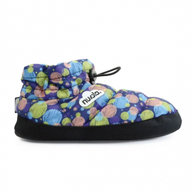 Zapatillas Nuvola Boot Home Printed 20 azul mujer