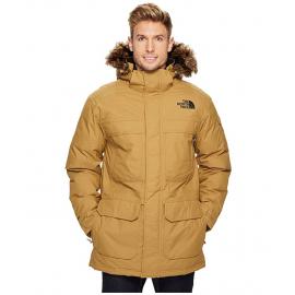 Abrigo The North Face McMurdo marrón hombre