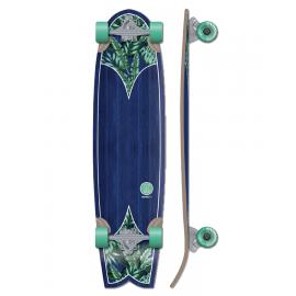 Skateboard Padang 37 Kruuze azul/verde