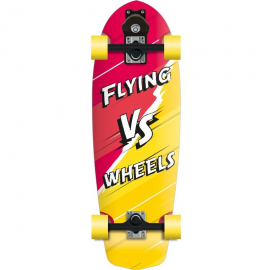 Skateboard Flying Wheels Versus 29 amarillo/rojo