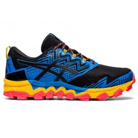 Zapatillas trail Asics Gel-FujiTrabuco 8 GTX azul/negro homb