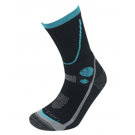 Calcetines Lorpen T3 Midweight Hiker negro mujer