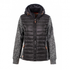 Chaqueta North Valley Seoul negro mujer