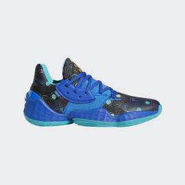 Zapatillas baloncesto adidas Harden Vol.4 negro/azul hombre