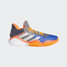 Zapatillas baloncesto adidas Harden Stepback gris/naranja