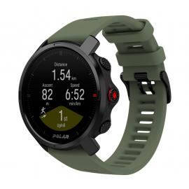 Reloj Polar Grit X Edicion Limitada negro verde m/l