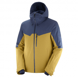 Chaqueta esqui Untracked Salomon amarillo hombre