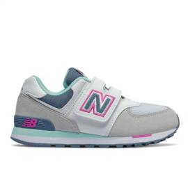 Zapatillas New Balance YV574NLH blanco/verde infantil