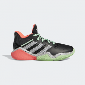 Zapatillas baloncesto adidas Harden Stepback negro junior