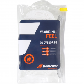 Paquete overgrip Babolat vs Original x 30 blanco