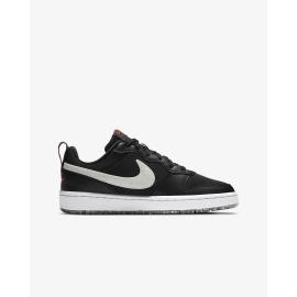 Zapatillas Nike Court Borough low 2 negro junior