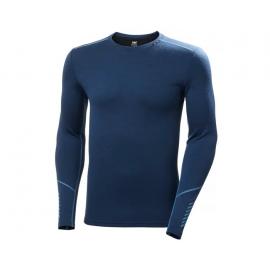 Camiseta termica merino Helly Hansen azulon hombre