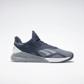 Zapatillas Reebok Nano X gris/azul mujer