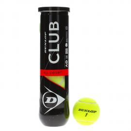 Pelota tenis Dunlop Club AC x4