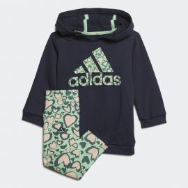 Chándal adidas Dress Set marino verde bebé