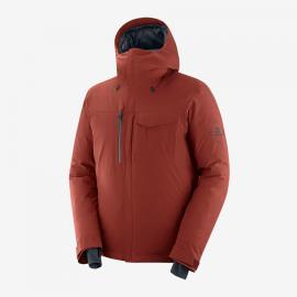Anorak plumas outdoor Arctic Salomon marron hombre295