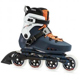 Patines Rollerblade Maxxum Edge 90 naranja/zafiro