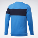 Sudadera Reebok Training Essential Fleece azul hombre