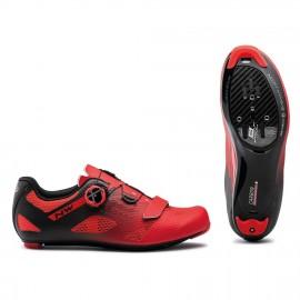 Zapatillas Northwave Storm Carbon rojo-negro Road