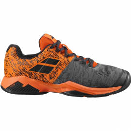 Zapatillas tenis Babolat Propulse Blast AC negro/naranja
