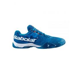 Zapatillas pádel Babolat Movea azul hombre