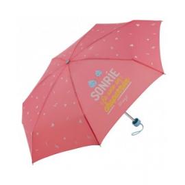 Paraguas plegableMr. Wanderful rosa mujer