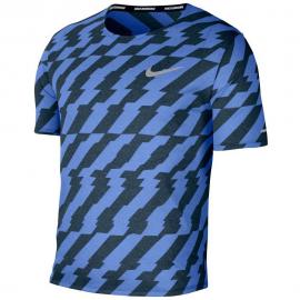 Camiseta running Nike Dri Fit Miller Future Fast azul