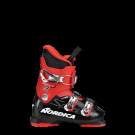Botas esquí Nordica Speedmachine J 3 negro rojo junior