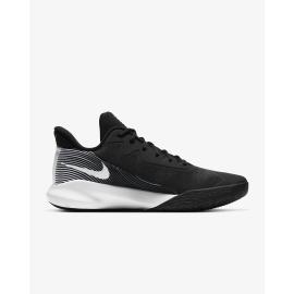 Zapatillas baloncesto Nike Precision IV negro blanco hombre
