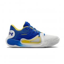 Zapatillas baloncesto Under Armour Spawn 2 azulon blanco