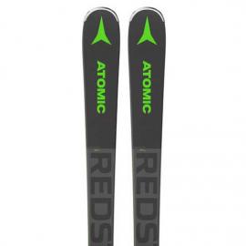 Pack  Esquí Atomic Redster X7 Wb verde + F 12 Gw gris verde