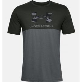 Camiseta Under Armour Camo Big Logo verde hombre