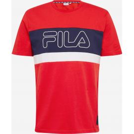 Camiseta Fila Laurens rojo/marino hombre