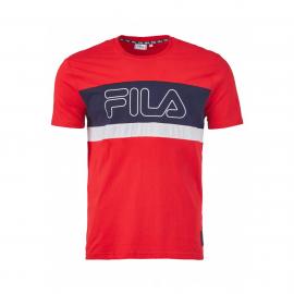 Camiseta Fila Mattia rojo/marino junior