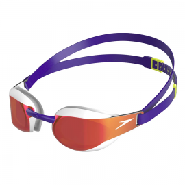 Gafas natación Speedo Fastskin Elite Mirror lila/blanco