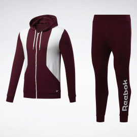 Chándal Reebok Training Linear Logo granate hombre