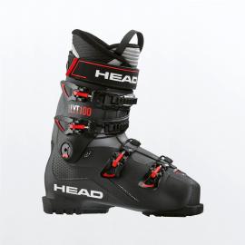 Botas esquí Head Edge Lyt 100 negro rojo  hombre