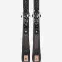 Pack esquís Salomon E S/Max W 10 + M11 Gw L80 negro