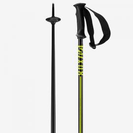 Bastones esquí Salomon X 08 negro amarillo unisex