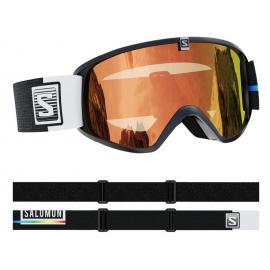 Mascara esquí Salomon Trigger Photo negro junior