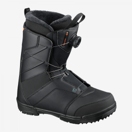 Botas snow Salomon Faction Boa negro rojo hombre