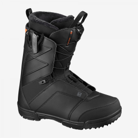Botas snow Salomon Faction  negro rojo hombre