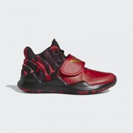 Zapatillas baloncesto adidas Deep Threat rojo junior